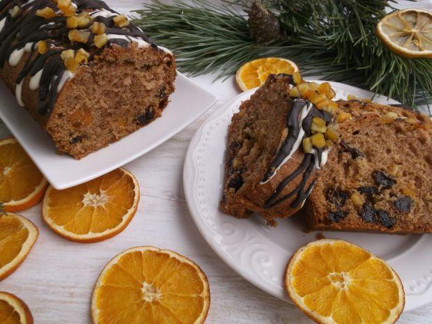 Przepis  piernikowy keks świąteczny przepis