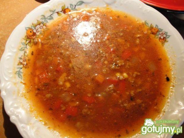 Przepis  zupa meksykańska 9 przepis