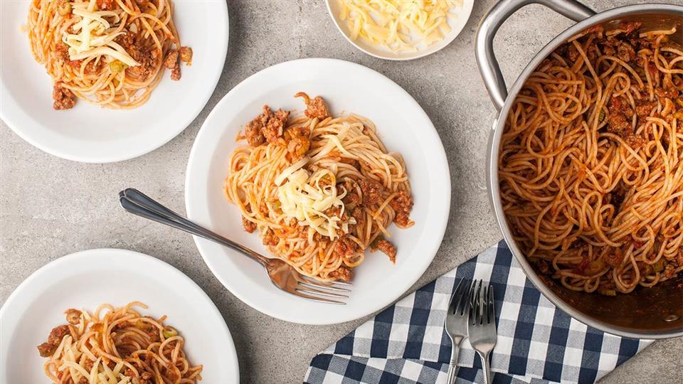 Spaghetti po studencku