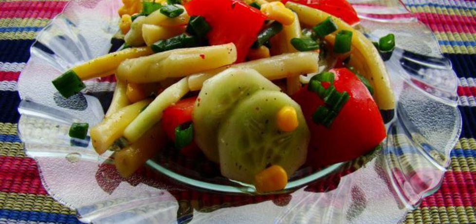 Sałatka z fasolki szparagowej (autor: iwa643)