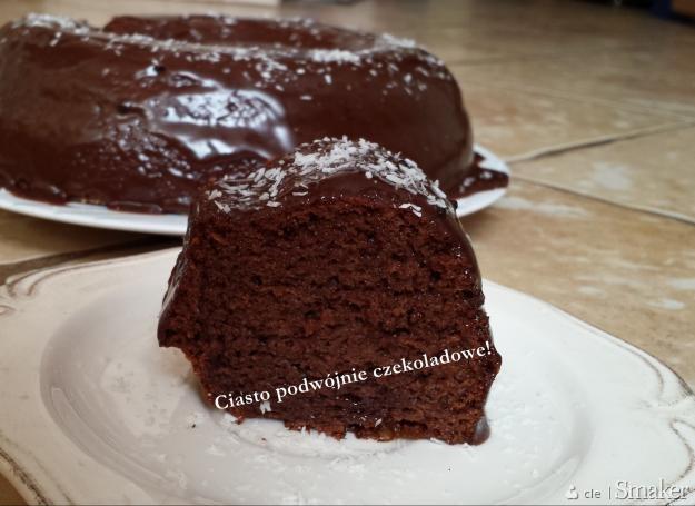 Podwójnie czekoladowe ciasto afrykańskie