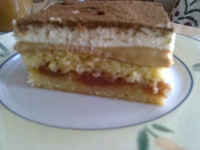 Ciasto gruszkowe z krówką