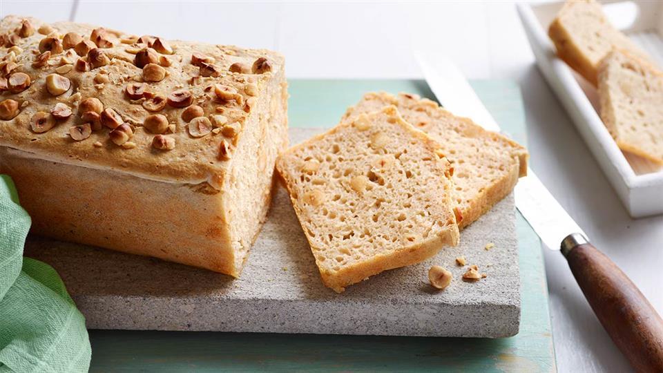 Przepis na chleb z orzechów laskowych