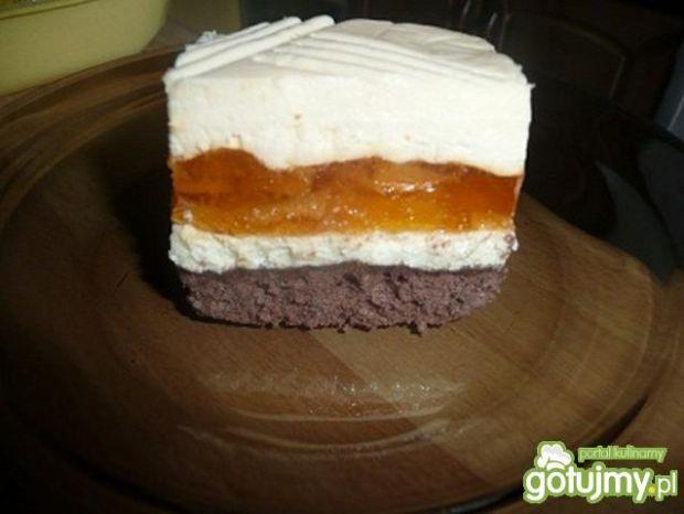 Przepis  ciasto z brzoskwiniami przepis