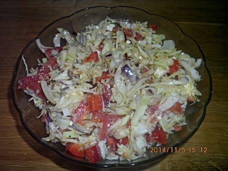 Przepis  surówka z kapusty z serem feta przepis