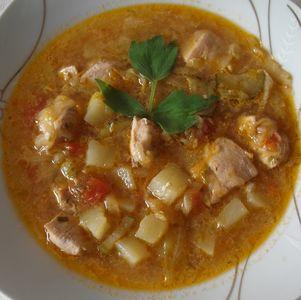 Zupa z młodej kwaszonej kapusty