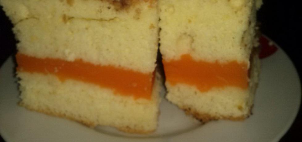Biszkopt z masą pomarańczową (autor: gottrina)