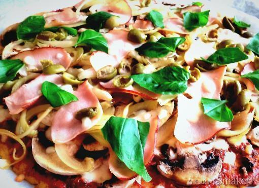 Pizza (bez glutenu i drożdży)