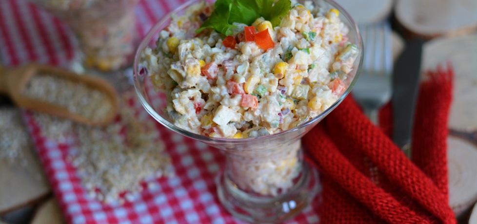 Kolorowa sałatka z tuńczykiem (autor: linka2107)