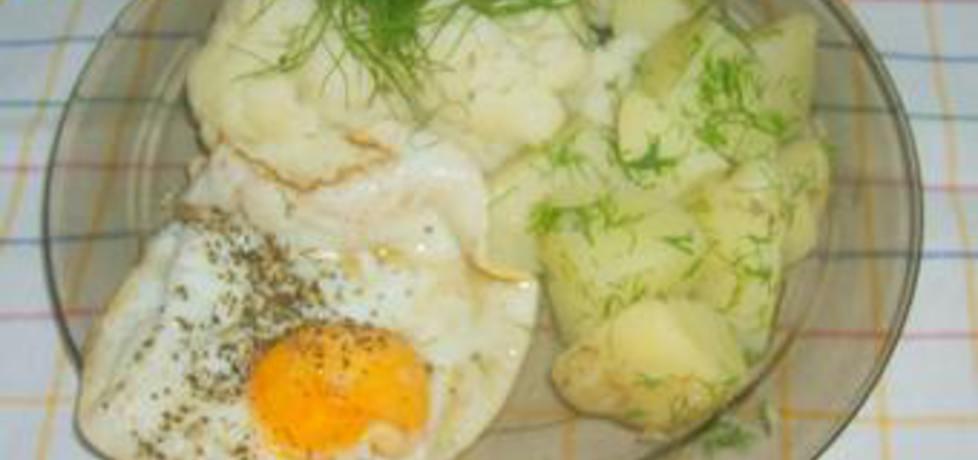Jajko,kalafior,młode ziemniaki na obiad (autor: zdzislaw ...