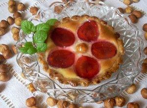 Tartaletki z serem i śliwkami  prosty przepis i składniki