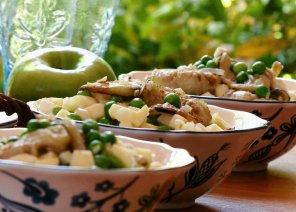 Sałatka z bakłażanów  prosty przepis i składniki