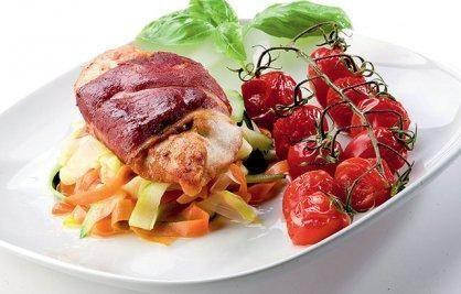 Przepis  filety z kurczaka z owczym serem przepis