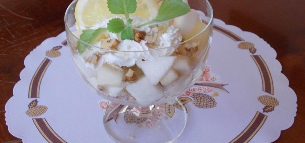 Sałatka owocowa z awokado, gruszki i jabłka (autor: bernadeta1 ...