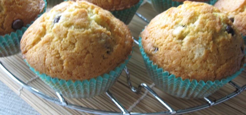 Muffiny z czekoladowymi groszkami (autor: anemon ...