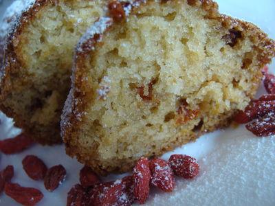 Muffinki z jagodami goji