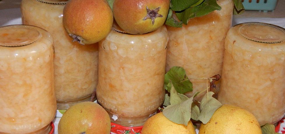 Frużelina gruszkowa z kandyzowaną skórką pomarańczową (autor ...
