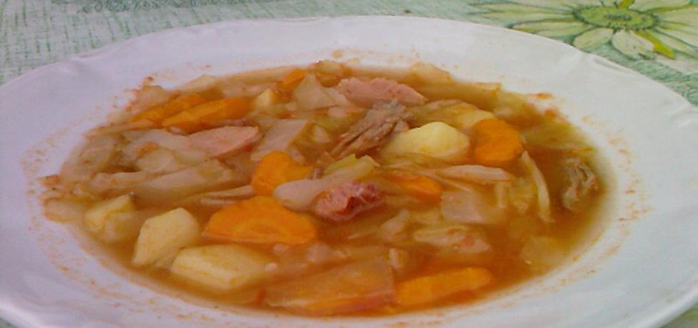 Kapuśniak ze słodkiej kapusty z pomidorami (autor: grazyna13 ...