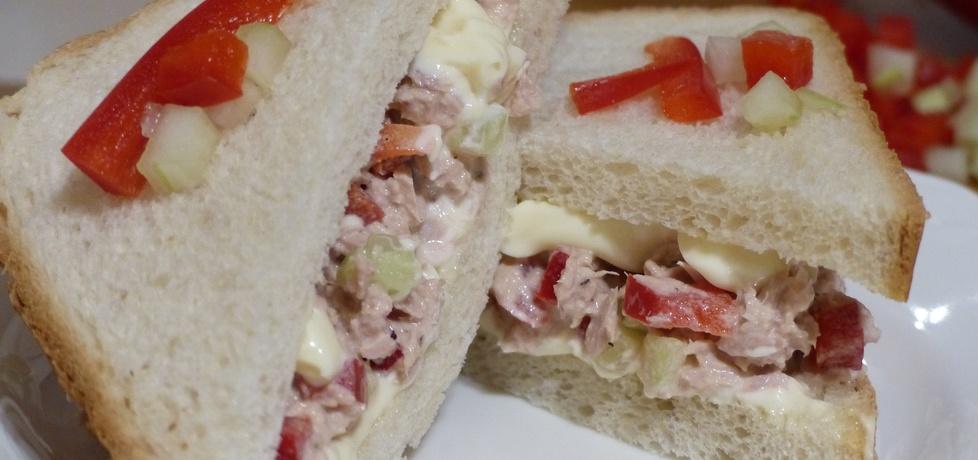 Kanapka z tuńczykiem i warzywami (autor: anka1988 ...