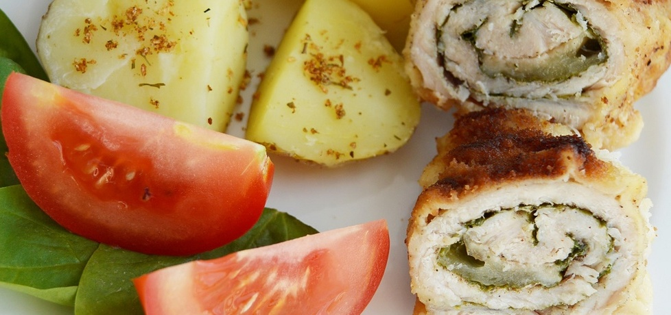 Schabowe ze szpinakiem i mozzarellą (autor: noninka77 ...