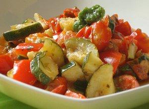 Caponata czyli duszone warzywa śródziemnomorskie