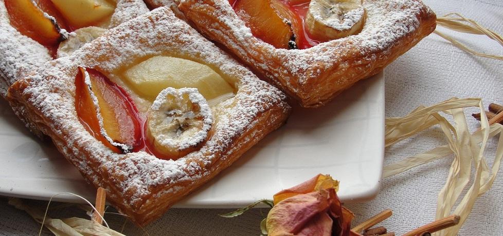 Francuskie ciasteczka z owocami (autor: alaaa)
