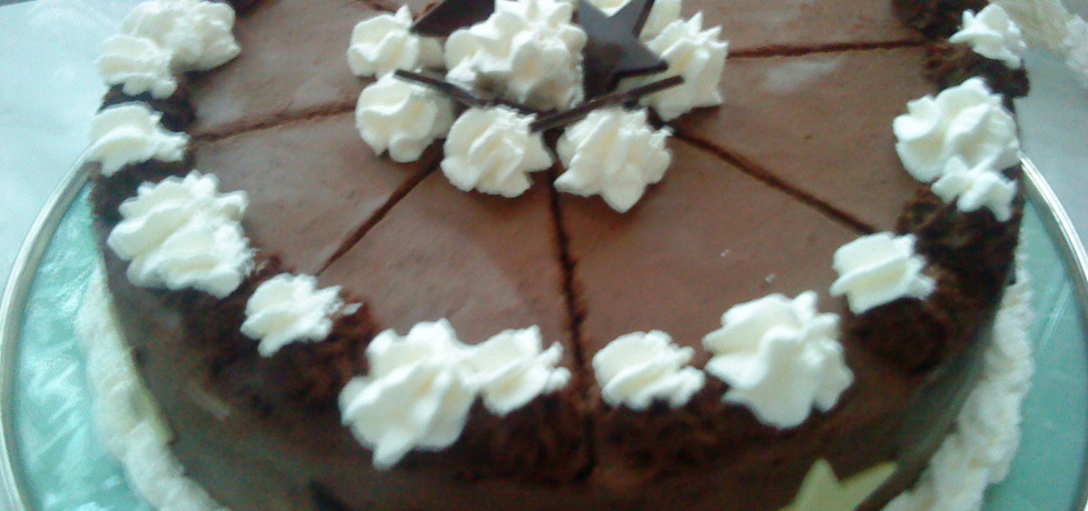 Tort czekoladowy z kremem mascarpone (autor ...