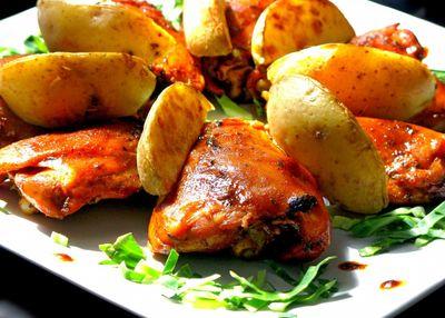 Pikantny kurczak z czosnkiem i chilli