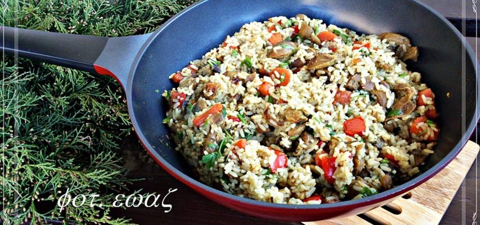 Żołądki z kurczaka w duecie z ryżem (autor: zewa)