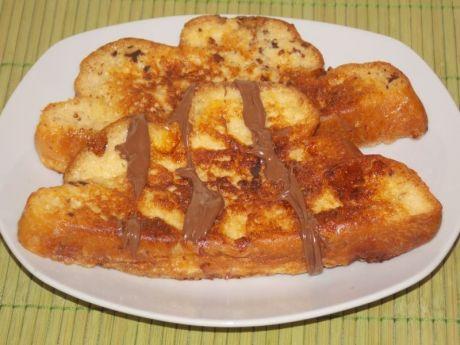 Przepis  francuskie tosty z chałki przepis
