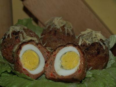 Jajka w płaszczyku czyli jajka po szkocku.