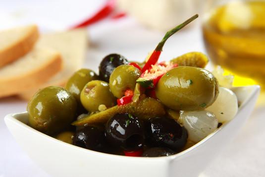 Tapas: oliwki na ostro