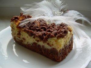 Ciasto jogurtowe z bydyniem  a'la sernik królewski