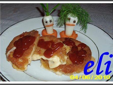 Przepis  smażony ser salami eli przepis