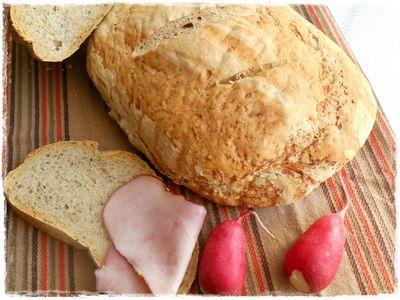 Chleb staropolski z czarnuszką i ziołami