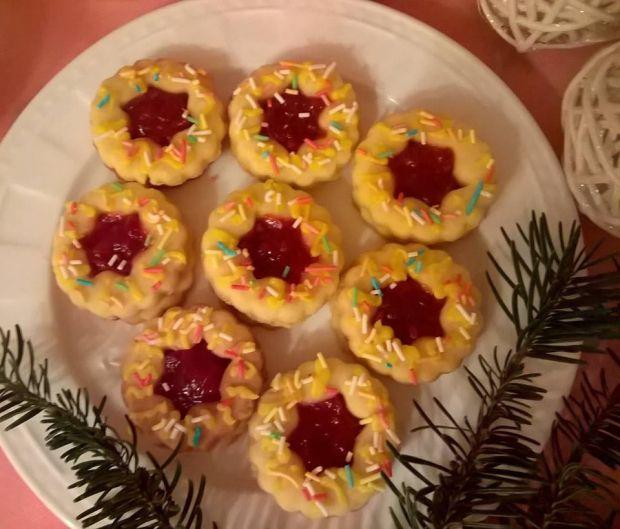 Przepis  ciasteczka krucho-drożdżowe przepis