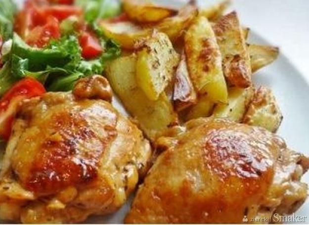 Udka z kurczaka z cytryną i miodem