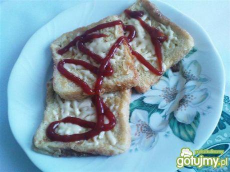 Przepis  tosty francuskie z serem przepis