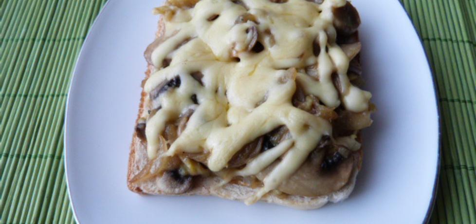 Grzanki z pieczarkami z serem (autor: renatazet)
