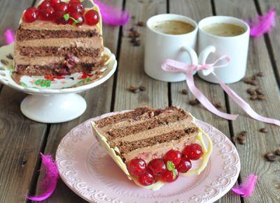 Mini torcik czekoladowo