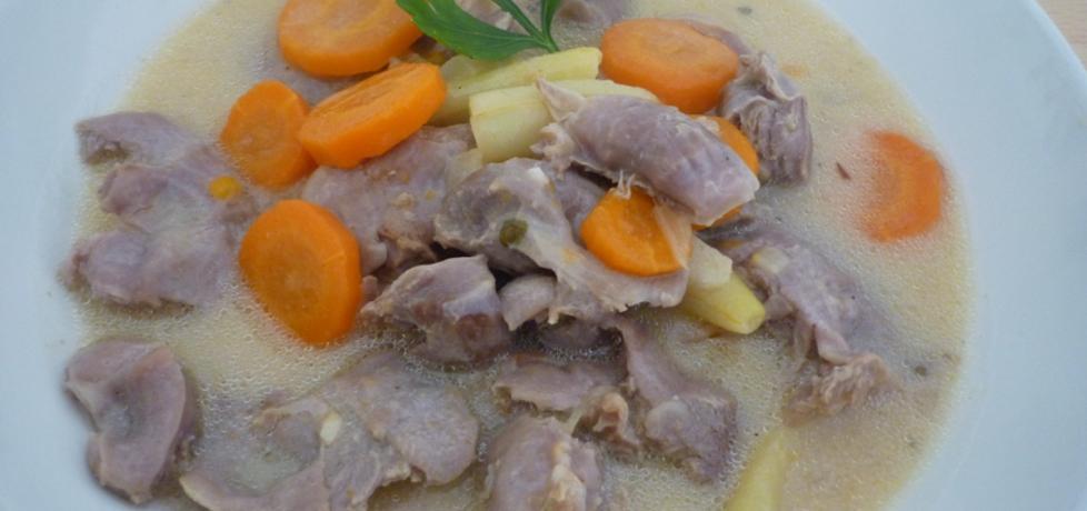 Żołądki drobiowe z marchewką (autor: renatazet)