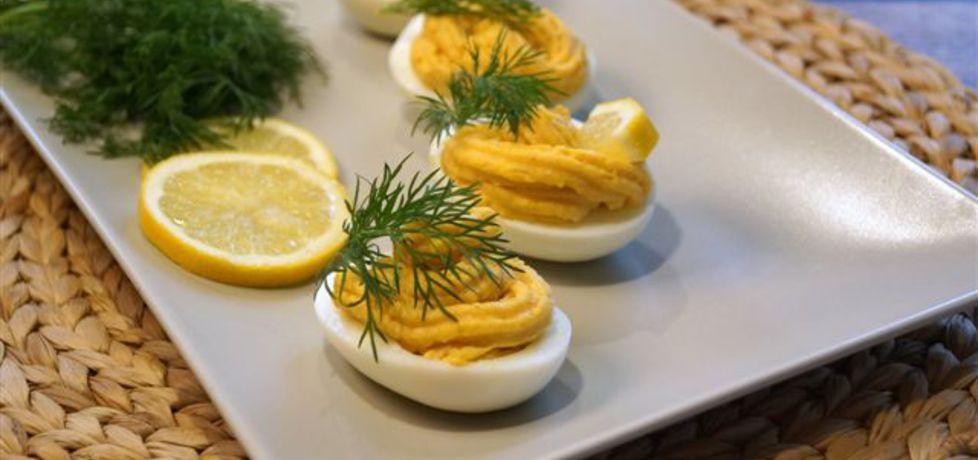 Jajka faszerowane pastą łososiową (autor: kulinarne-przgody