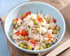 Tuńczyk z ryżem i papryką  prosty przepis i składniki