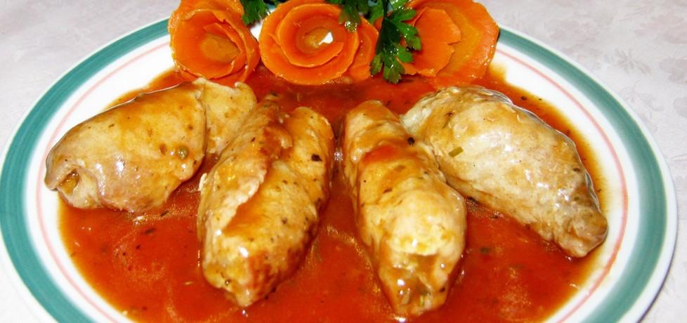 Małe roladki w ketchupowym sosie (autor: katarzynka455 ...