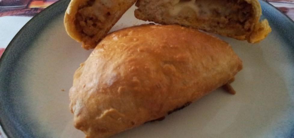 Drożdżowe pierogi z mięsem mielonym (autor: krokus ...