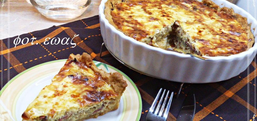 Tarta z boczkiem i cebulą (autor: zewa)