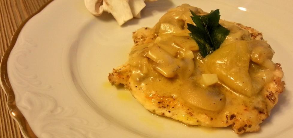 Kurczak w sosie pieczarkowym (autor: cooked)