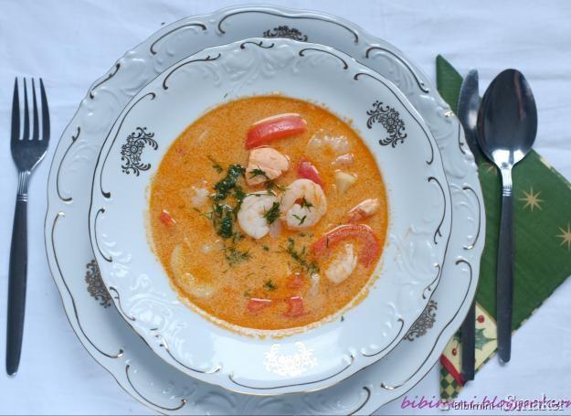 Skandynawska zupa rybna