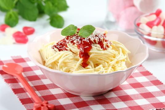 Lodowe spaghetti a'la bolognese