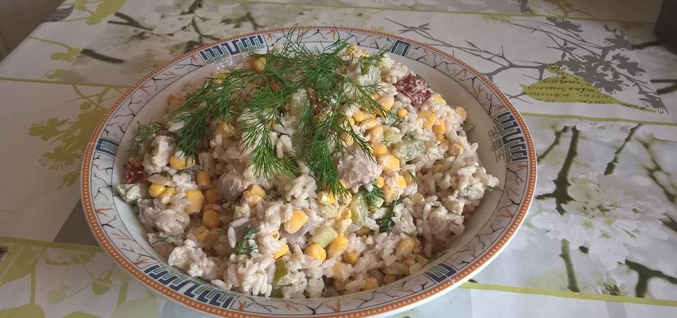Sałatka śledziowa z ryżem i koperkiem (autor: ania321 ...